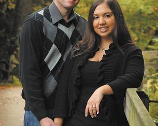 Aaron Oeken and Ashley Basile