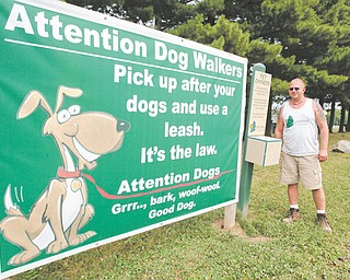 Todd Shaffer, Austintown Township Park supervisor, hopes to have a fenced-in dog park ready for use before the end of winter.