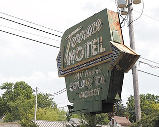Boardman Township and Mahoning County officials announced the awarding of $75,000 in Community Development Block Grant funding to demolish the Terrace Motel on Market Street, which has been boarded up since 2003.