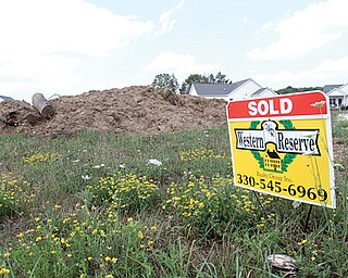 In June, the U.S. housing market showed evidence of a recovery when builders broke ground on the most new homes in nearly four years. The Mahoning Valley has seen strong regional home sales, too. Four new lots are being prepared for construction at the Lakes at Sharrot Hill Development in Beaver Township.
