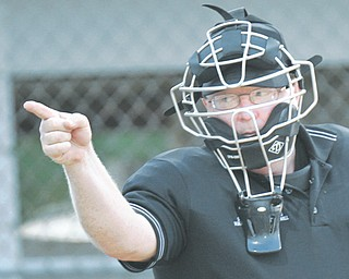 Little League umpire Chet Cooper