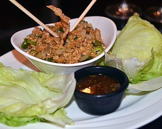 Michael Alberini's -  Asian Lettuce Wraps.