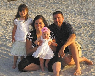 Here's the Taneri family on Lido Beach in Florida. Photo sent in by Kelly Alexander.