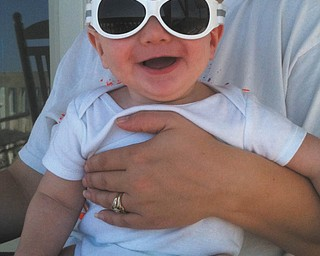 At 7 months old, Rodney Hepfner III already knows how to rock a pair of sunglasses. Beth Hepfner sent in this photo, which was taken last year in Holden Beach, N.C.