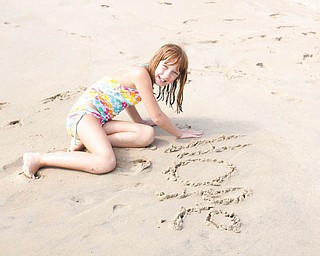 Donna Zagotti of Canfield submitted this photo of her daughter, Hope Zagotti, which was taken in Fenwick Island, Del., in August 2011.