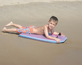 Donna Zagotti of Canfield submitted this photo of her son, Ryan Zagotti, which was taken in Fenwick Island, Del., in August 2010.