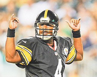 Steelers quarterback Byron Leftwich is finally healthy but the 32-year-old backup isn't in a big rush to get out of Pittsburgh.