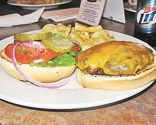 The Lemon Grove's Whiskey Burger