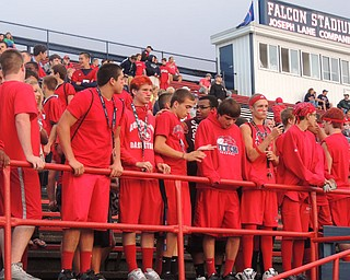 Spirit section is a RED OUT!
