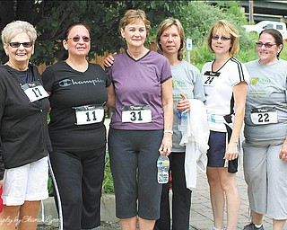 The Ohio Naturopathic Wellness Center of Boardman raised more than $1,700 for Make A Wish Foundation through its 5K event Aug. 11 at the Kirk Road Bike Trail in Canfield. More than 100 participated in the 5K run, 2-mile walk and Kids Fun Run. The youngest was 21⁄2 years old and the oldest was 78. The overall men's winner was Fletcher Dunham, 17, of Boardman; women's winner was Heidi Hoffman, 14, of McDonald; Mason Janis, 6, of Canfield won the 3-7 division of Kids Fun Run; and Danielle Williams, 11, of Sandy Lake, Pa., won the age 8-13 division. Dr. Ted Suzelis, N.D., owner of the fitness center, and fitness 