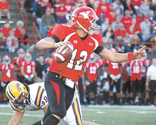 Youngstown State quarterback Kurt Hess is 0-2 against Northern Iowa. He'll try to get his first win against the Panthers on Saturday night at Stambaugh Stadium.