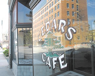 The building that houses Cedar's Lounge at 23 N. Hazel St. was sold to Gatta Co. in Niles for $192, 500. Cedar's Lounge will remain in business there. At left is the former Cedar's Cafe, an extension of the lounge that closed a couple years ago.