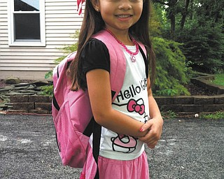 Danielle Trafficante of Boardman shared this picture of her daughter, Adriana, on her first day of first grade at Stadium Drive School.
