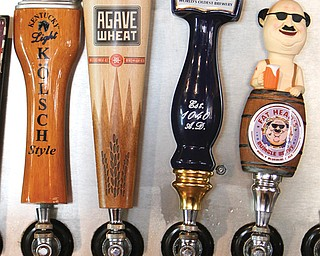 The Magic Tree Pub and Eatery carries 20 beers on tap, including: Great Lakes Oktoberfest, Founders Porter, Lagunitas IPA, Abita Purple Haze, Yuengling Lager, Jeremiah Red, Kentucky Light, Breckenridge Agave Wheat, Fat Head's Bumble Berry, Rivertown Pumpkin Ale Weihenstephan Hefe Weiss, Angry Orchard Crisp Apple Cider, Coors Light, Magic Hat #9, Murphy's Stout, Samuel Adams Octoberfest, Cellar Rats Pride of Cleveland, Kentucky Bourbon Barrel, Great Lakes Oktoberfest, Thirsty Dog Barktoberfest and Gaffel Kolsch.