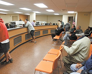 Mahoning County Auto Title Department, which also processes passports and paperwork to become naturalized American citizens, is now located at Oakhill Renaissance Place, 345 Oak Hill Ave., on Youngstown's South Side. A new counter provides a much larger open area for customers to talk to clerks. The department, which opened Tuesday, moved from the South Side Annex on Market Street to the former Forum Health Southside Medical Center.