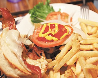 Tiger Burger at Raptis Family Restaurant