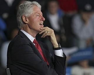 William d Lewis the vindicator  Bill Clinton during Biden Clinton rally 102912.