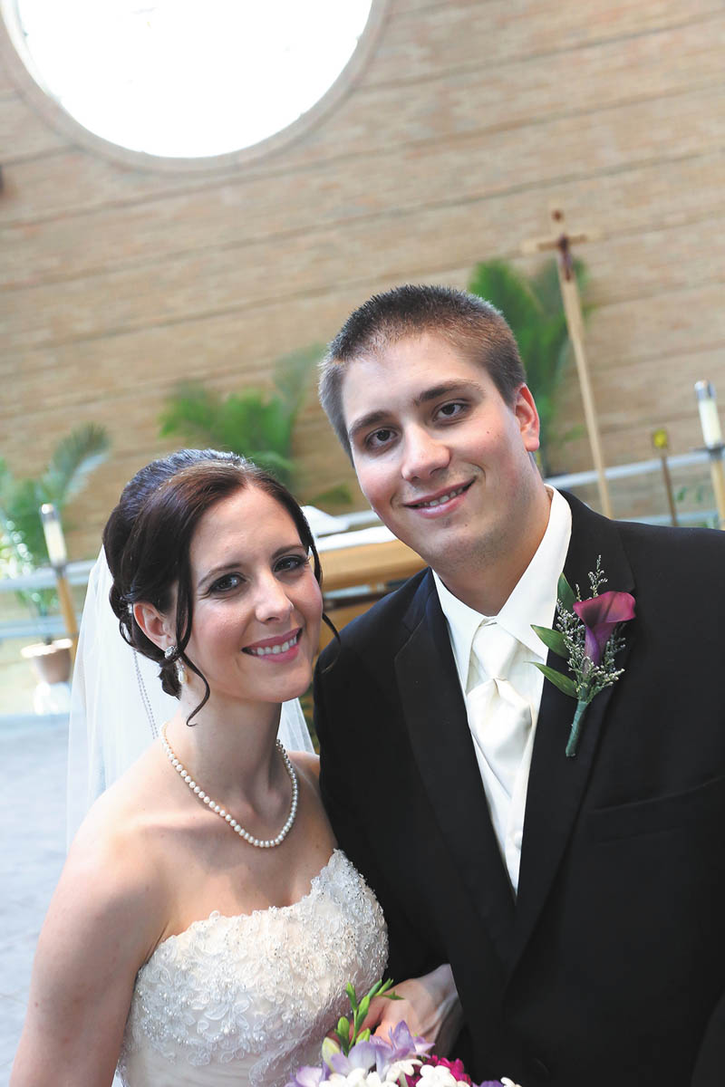 Stefanie LuBonovic and Jason Hazen