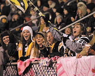 Crestview fans cheered their team on to victory last week.
