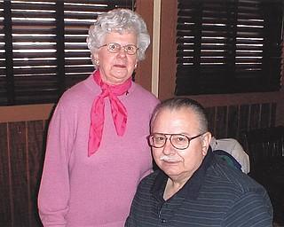 Mike Polkabla of Girard says his mom, 85-year-old Anne Polkabla, gives him a lot of joy.