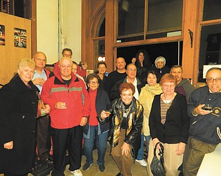 The Austintown Lions and Lioness Clubs recently toured the Rust Belt Brewery in the B&O Station. The tour guide was owner Ken Blair. The clubs observed the details of the brewing operation and sampled different types of brews Rust Belt offers.