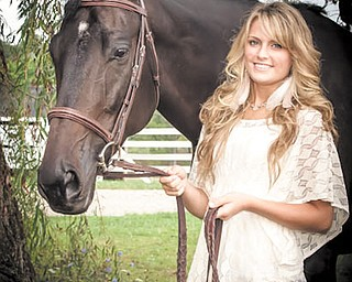 Tara Lawless, a freshman at South Range High School, competed in the All-American Quarter Horse Congress in Columbus in October.