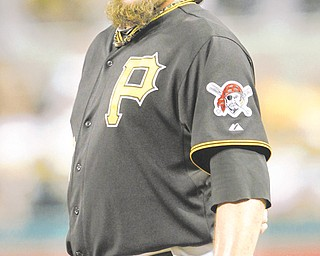 Pittsburgh relief pitcher Joel Hanrahan is headed to Boston after a six-player deal between the Pirates and Red Sox.