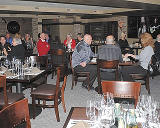 The lower banquet room of Alberini's in Niles was recently renovated into D'Vino. The new restaurant offers a fine-dining and wine experience that customers would expect to find in a larger city.