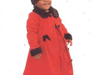 Showing off her sassy red outfit is Saria Drake, daughter of Darlene Drake and granddaughter of Donna Clayton, who sent in this photo. Saria, now 5, was 4 years old when she sported her favorite-color outfit. They are all from Youngstown.