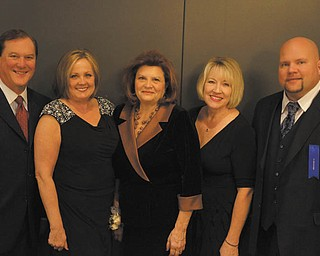 SPECIAL TO THE VINDICATOR Youngstown Columbiana Association of Realtors officers who were recently installed for 2013 are from left, Charley Althof, president-elect; Debbie Parisi, past president; Sandi Bates, president; Debbie Schiffhauer, chief executive officer; and Dan Dull, treasurer.