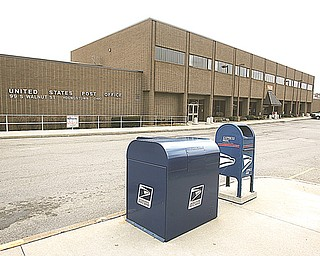 Mail collected in the Youngstown area will go to Cleveland for cancellation beginning Feb. 23, instead of being canceled in Youngstown. A year or so from now, the Youngstown mail-processing center, above, will close, and all of its functions will be transferred to Cleveland, a U.S. Postal Service spokesman said.