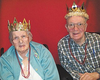 Vista at the Ridge, 3379 Main St., Mineral Ridge, crowned Christina and Robert Bowskill Valentine King and Queen for 2013 at its annual Valentine's Party. | PHOTO SPECIAL TO THE VINDICATOR