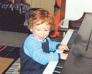 Betty Shultz sent in this photo of her grandson, Peyton Shultz of New Middletown, who was ready to rock out at the piano. Peyton was 2 1/2 when this photo was taken in November.