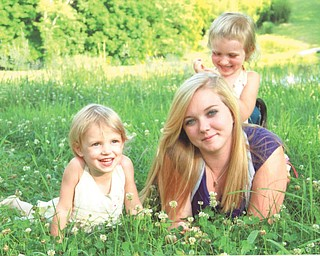 Shirley Bradick of Youngstown sent in this photo of her three granddaughters, who all live in Amesville in southeastern Ohio. They are Estelle, 3, Emily, 17, and Evelyn, 5. The girls' father is Tom Ripple, who graduated from Wilson High in the '80s.