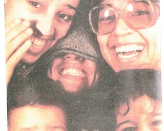 Lots of smiles are packed in there! From top left are Carmen Rodriguez, Liz Rodriguez and Sally Zalovcik, all sisters. Liz's son Tyri Rodriguez is bottom left, and Sally's son Joshua Zalovcik is bottom right. Photo submitted by sister Gladys Rodriguez.