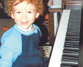 Is Peyton Shultz of New Middletown all smiles before the performance, or after? Only his grandma, Betty Shultz, knows. She sent in this photo of her grandson at age 2 1/2 in November.