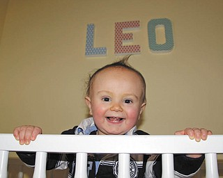 Leo Manning, son of Samantha and Patrick Manning, just turned a year old and always has a big smile, says his grandmother, Joyce Buzzacco, who sent in this photo.