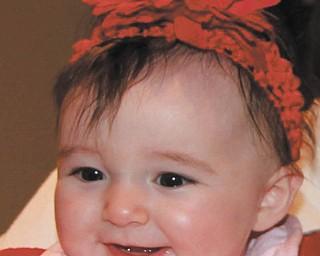 Samantha Sodeman of North Jackson. Photo sent in by Aunt Jackie Cannatti of Poland.