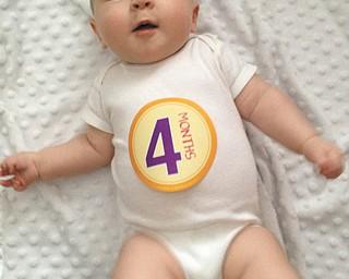 Mary Ann Navarro sent in this photo of her granddaughter, 4-month-old Ella Elizabeth Navarro of Boardman.