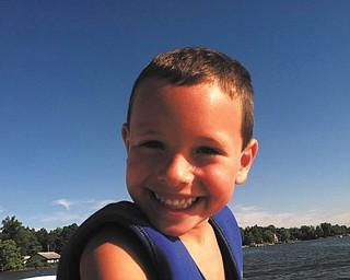 Nico Genova, age 6, of Poland. Photo sent in by Lori Genova.