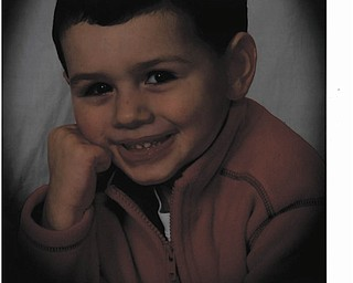 J.P. Genova of Poland smiles for a portrait. Photo sent in by Grandmother Loretta.