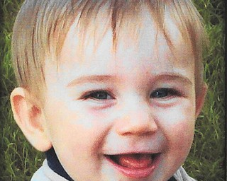 Two-year-old Connor Blanco is the grandson of Frank Blanco of Boardman, who sent in this photo of his beaming grandson.