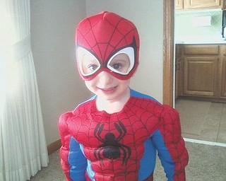 Alex thinks he is Spider Man, according to his mom, Steffie Valentino.