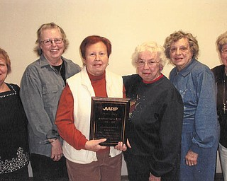 SPECIAL TO THE VINDICATOR Austintown AARP Chapter 4339 has appointed its officers for 2013. They are from left, Delores Lettera, assistant secretary; Linda Ayars, secretary; Pat Miller, president; Pat Chamberlain, vice president; Doris Baker, treasurer; and Sue Maryerchak, assistant treasurer.
