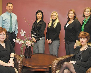 ROBERT K. YOSAY | THE VINDICATOR The Alzheimer's Association is presenting the 9th annual Forget-Me-Not Gala April 13. Some of the committee members planning the event are, seated from left, Janie Skusa and Mickey Meelich; and standing are David Keast, Deanna Spirko, Katie Rusu, Jean Daliman and Anna Keck.