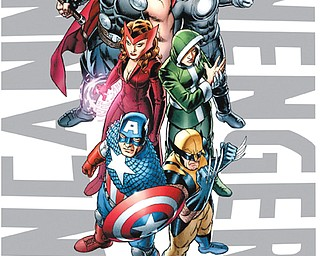 """This image provided by Marvel Entertainment shows the cover of the first issue of """"Uncanny Avengers."""" Marvel Entertainment, home to the Fantastic Four, the X-Men and the Avengers, among others, has made more than 700 first issues available to digital readers via its app and website."""