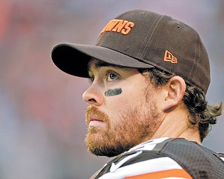 Cleveland Browns quarterback Colt McCoy, who became expendable when Cleveland signed veteran free agent Jason Campbell last week, was traded Monday to the San Francisco 49ers.