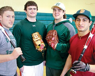 While Ursuline's and Canfield's high school baseball programs both lost regional championship games last spring, this season will be different, at least at the start. The Irish return all but one starter, including a quartet