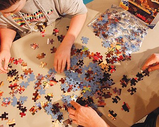 A jigsaw-puzzle-building competition will help raise awareness about autism, and all the proceeds from the event will benefit educational and support programs that help families living with their child's diagnosis. April is autism awareness month, and the puzzle is its symbol because of the complex nature of the disorder.