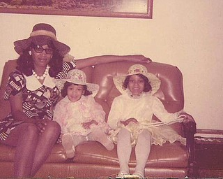 Jaietta Jackson of Youngstown sent in this photo of her mom, Mosetta Jackson of Canfield, her sister, LaTasha Allen of Columbus, and herself. It was taken around 1975.